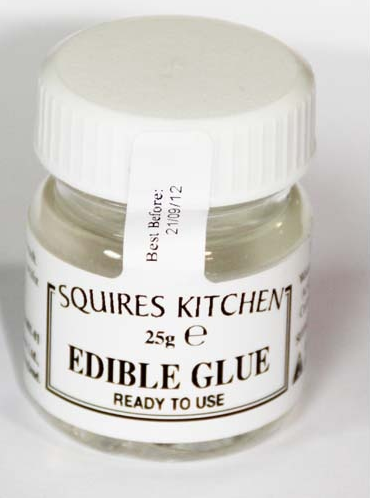 Edible Glue For Cake Decorating